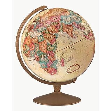 Replogle Globes 31501 Franklin Globe, Small, Off-White
