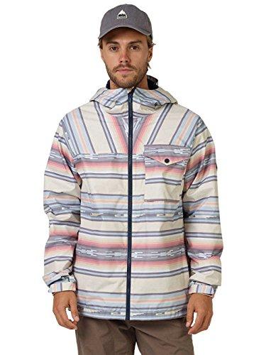 Burton baja canvas Portal Chaqueta Jacket stripe 1wr7q1R