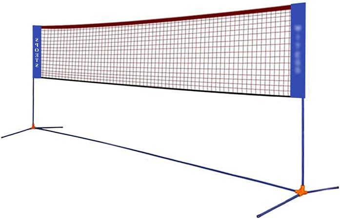 Tennis Net Ball Network Folding Tennis Stand Badminton Net Diagonal Portable Badminton Net Rack Simple Folding Standard Mobile Net Rack Color Blue Size Net Width 510cm Amazon Co Uk Kitchen Home