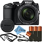 Nikon COOLPIX B500 16MP Point & Shoot Digital Camera (Retail Packaging) (Cloth Only, Black)
