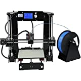 ALUNAR 3D Printer DIY Prusa I3 Kit Mini Self-assembly Desktop FDM 3D Printing Machine with Heated Build Plate SD Card and PLA Filament (A6 Deal Price)