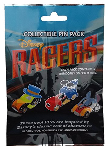 WDW Trading Pin - Disney Racers Mystery Pin Pack
