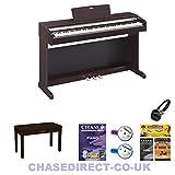 Yamaha YDP-143 Digital Piano Arius Rosewood 88 Fully Weighted Keys Electric