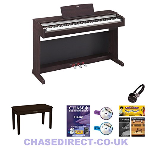 Yamaha ydp 143 digital piano arius rosewood 88 fully weighted keys electric keyboards zone for Yamaha fully weighted keyboard
