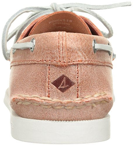 Sperry Top-sider Dames Koraal In Twee Oogenschoenen