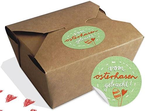 12 cajas de regalo marrón, SET, para niños de la Pascua ...