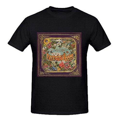 Panic At The Disco Pretty Odd Graphic T Shirts For Men Crew Neck