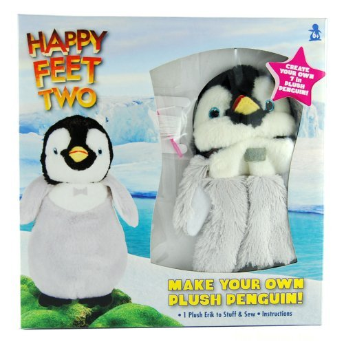 Happy Feet Two- Make Your Own Plush Penguin!- Erik by Colorbok