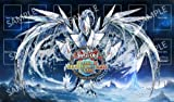 Custom Yu-Gi-Oh card game play mat play mat transparent storage case with M4203 (japan import)