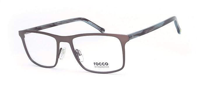 Rodenstock - Montures de lunettes - Homme marron marron  Amazon.fr ... cc31fdce8099