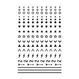 Tattly Temporary Tattoos Facial Expressions Sheets