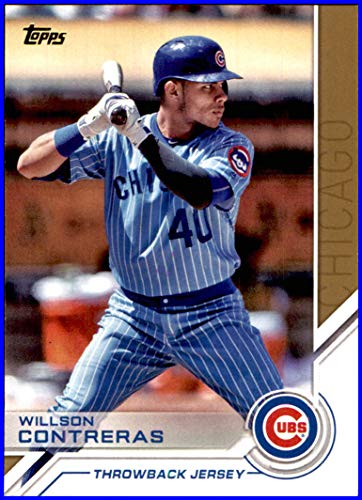 uk availability 14bf6 d9c72 2017 Topps Salute #S63 Willson Contreras CHICAGO CUBS ...