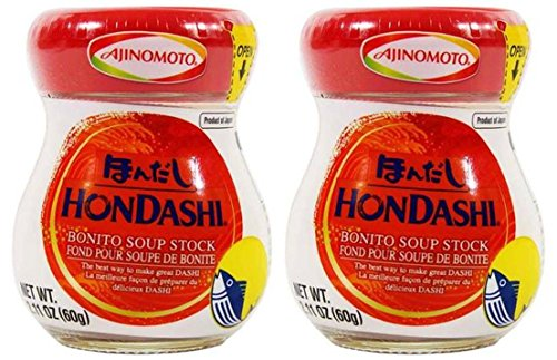 - Japanese Hon Dashi Bonito Fish Soup Stock - 2.1 oz x 2 bottles