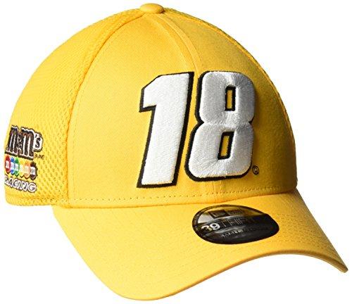 New Era NASCAR Mega Team Neo 39Thirty stretch Fit Cap, Small/Medium, A Gold