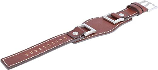 Bracelet de montre Fossil JR1157 Cuir Brun 24mm