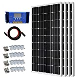 400 Watt Monocrystalline Solar Panel Starter Kit with 30A PWM Solar Charge Controller Off Grid System For Sale