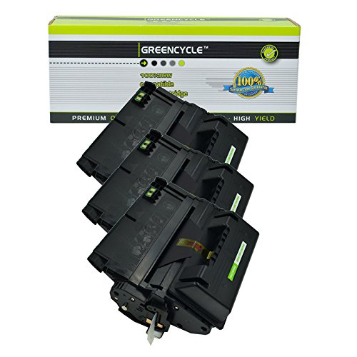 Greencycle Compatible Replacement for HP 38A / Q1338A Black Laser Toner Cartridge for Laserjet 4200 4200dtn 4200dtns 4200dtnsl 4200n 4200tn 4240 4250 4350 Series Printer 3 Packs