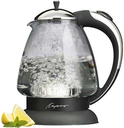 Capresso Glass Electric Water Kettle