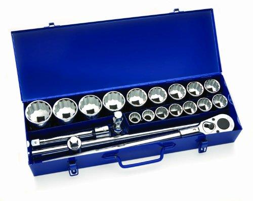 Deluxe Socket Wrench Set (Williams 33901 21-Piece 3/4-Inch Drive Socket Lok Tool Set)