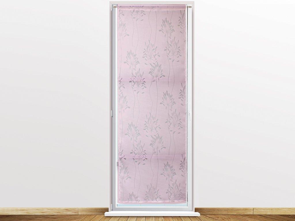 Soleil docre 044716 Fleur Brise Bise en D/évor/é Polyester Rose 120 x 60 cm