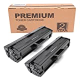 Itari Compatible Toner Cartridges Replacement for Samsung MLT-D111S MLT D111S Works with Samsung Xpress SL M2020W M2020 M2070FW M2070W Laser Printer - 2 Pack, Black