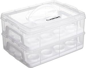Cuisinart Cupcake Carrier, Clear