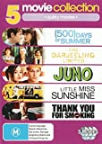 500 Days Summer / Darjeeling Limitd / Juno / Little Miss Sunshine | 5 Discs | NON-USA Format | PAL | Region 4 Import - Australia