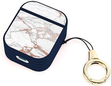 Amazon.com: Wireless Airpod Case Rose Gold Marble: Electronics