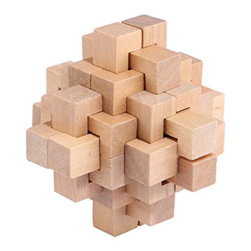 Rompecabezas Madera Fokom 9 Pack Puzzles 3d Juegos De Ingenio