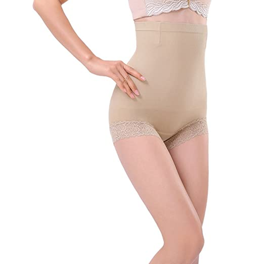 d97e51866832a ASO-SLING Womens High Waist Belly Control Panties Body Shaper Brief  Seamless Shapewear Pants Shorts Cheap and! at Amazon Women s Clothing store