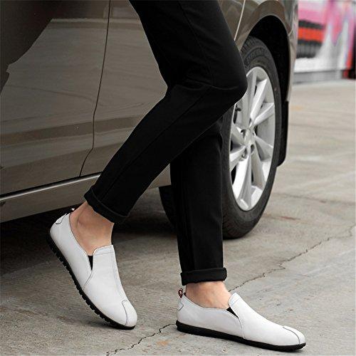 ons Para Primavera Conducción Cuero Y Comfort Zapatos Hombres De Slip Mocasines Otoño Un 4wAAz