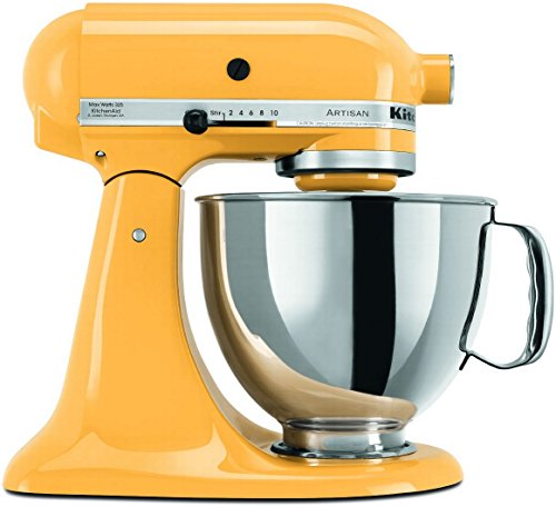 kitchenaid buttercup mixer - 1