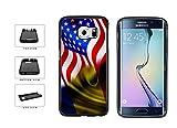 BleuReign(TM) Romania And USA Mixed Flag TPU RUBBER Phone Case Back Cover Samsung Galaxy Note 5 Edge