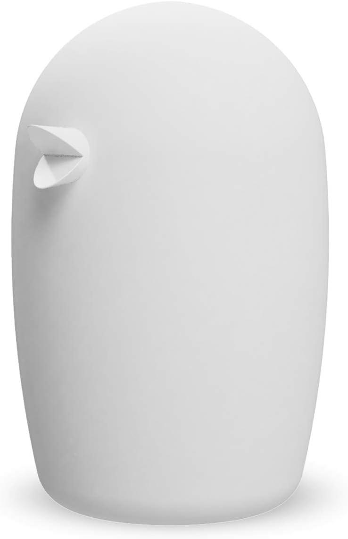 Cooee Design Figura de pájaro de cerámica, Color Blanco, 7 cm