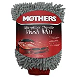 #5: Mothers Premium Chenille Car Wash Mitt - Scratch & Lint Free