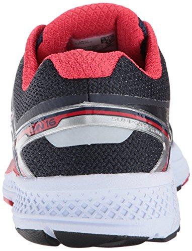 Saucony Mens Omni 16 Running Shoe Navy Red