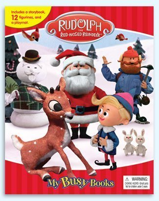 Rudolph the Red-Nosed Reindeer My Busy Book