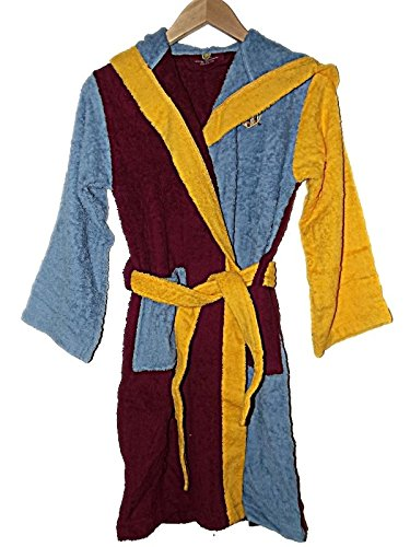 a5cd061c187 OFFICIAL AVFC NEW BOYS GIRLS ASTON VILLA HOODED TOWELLING DRESSING  GOWN ROBE ~ CLARET