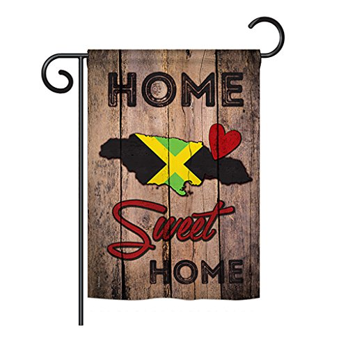 Country Jamaican Hogar Dulce Hogar - Flags of the World Nationality Decoration - 13