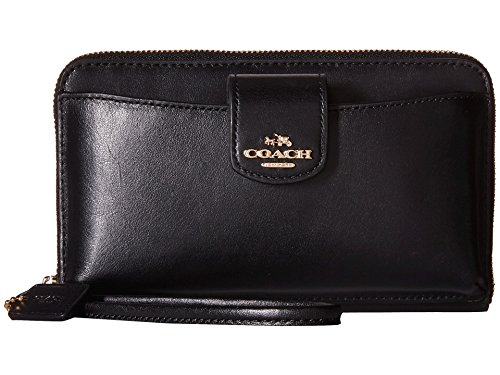 Womens Program Leather Universal Wallet
