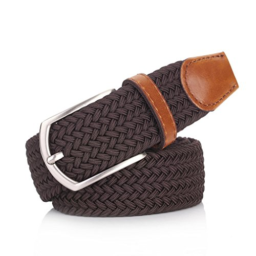 Weifert Elastic Braided Belt Big & Tall Available Stretch Woven Belts