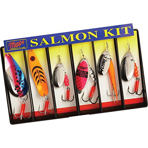 5001123 Mepps Salmon Kit - Plain Lure Assortment