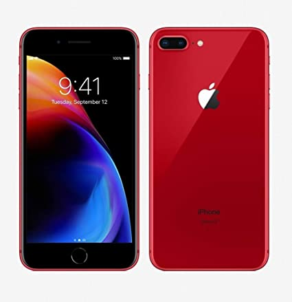 Apple iPhone 8 Plus, 64GB, Red , For T,Mobile (Renewed)