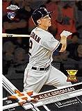 #7: 2017 Topps Chrome #9 Alex Bregman Houston Astros Rookie Baseball Card