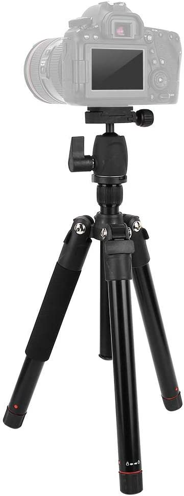 Portable Aluminum Photography Tripod Detachable Monopod for Digital SLR DSLR Mirrorless Camera.
