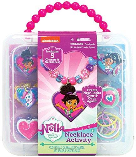 Tara Toys Nickelodeon Nella the Princess Knight Necklace Activity Set
