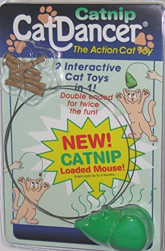 Whiff Sticks (Cat Dancer 601 Catnip Cat Dancer Interactive Cat Toy)