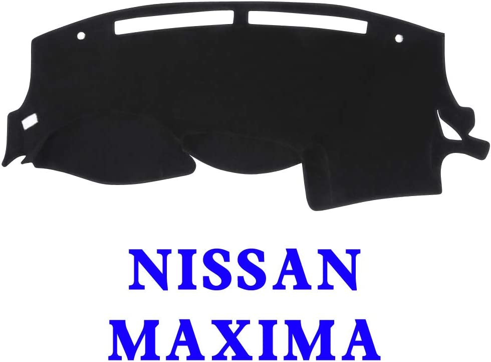 Extra Thick Car Sunshield Protector Pad Premium Custom Dash Mat Non-Slip Black MR009 YRCP Dashboard Cover for Nissan Maxima 2009-2015