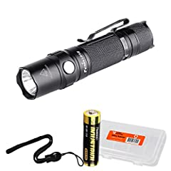The Fenix LD12 2017 smaller and brighter than ever - now capable of a super bright 320 lumens with the use of a 14500 battery, this light operates on Alkaline or Ni-Mh AA batteries. The neutral white Cree XP-G2 R5 LED offers a sunlight...