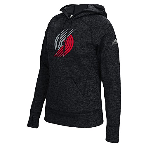 Team Trail (NBA Portland Trail Blazers Women's Team Logo Fleece Pullover Hoodie, Medium,)